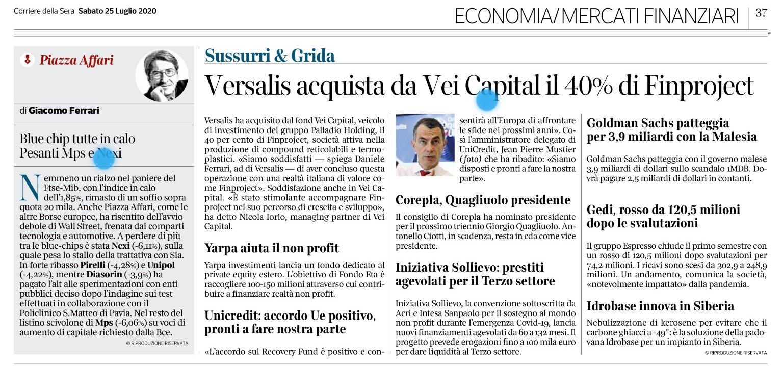 """""""Yarpa aiuta il no profit con il lancio del settimo fondo denominato Fondo Eta"""""""